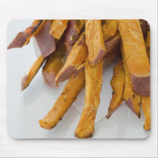 Sweet Potato fries in paper bag, close up, Mouse Pad