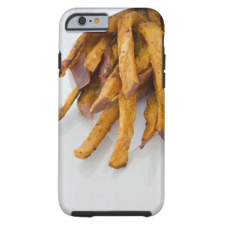 Sweet Potato fries in paper bag, close up, Tough iPhone 6 Case