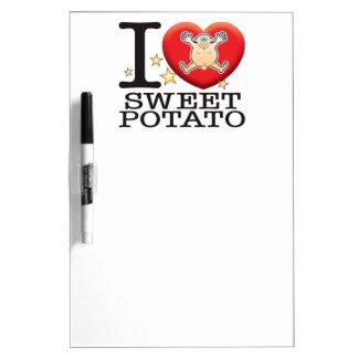 Sweet Potato Love Man Dry-Erase Whiteboard
