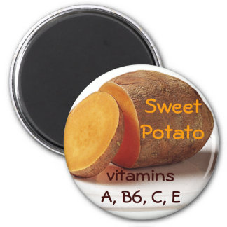 sweet potato magnet