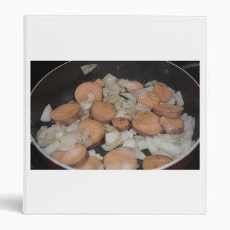 sweet potato onions frying binders