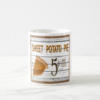 Sweet Potato Pie  Coffee Cup