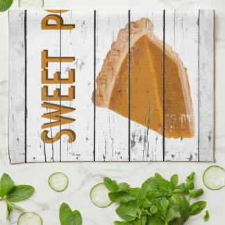 Sweet Potato Pie Hand Towel