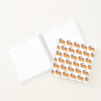 Sweet Potato Pie Orange Yam Foodie Baking Slice Notebook