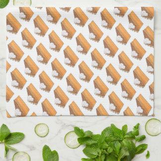Sweet Potato Pie Slice Christmas Dessert Towel