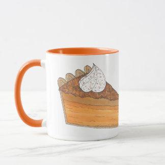 Sweet Potato Pie Slice Holiday Christmas Food Mug
