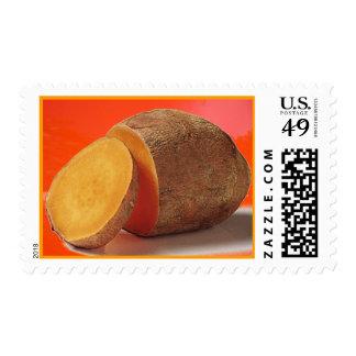 sweet potato postage stamp