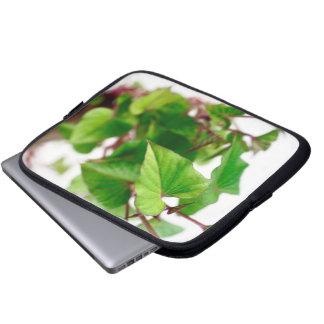 Sweet potato sprouts laptop sleeve