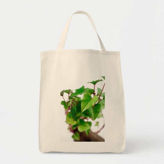 Sweet potato sprouts tote bag