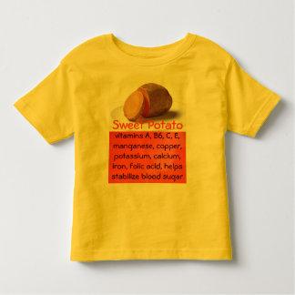 sweet potato toddler shirt