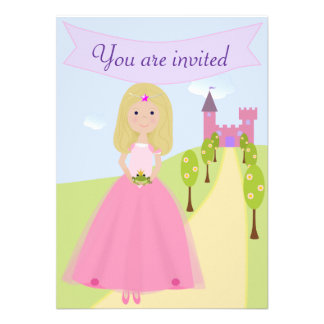 Sweet Princess Birthday Invitation