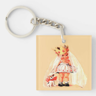 Sweet Princess. Custom Name Gift Keychains