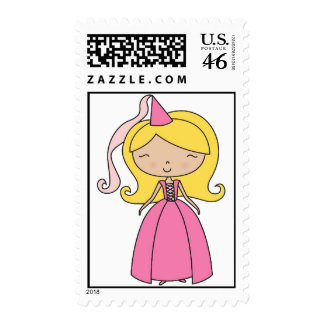 Sweet Princess Girly Stamp - Great for Birthdays!