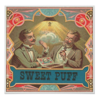 Sweet Puff Poster