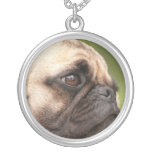 Sweet Pug Personalized Necklace