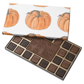 Sweet Pumpkin, Happy Holidays 45 Piece Assortment Assorted Chocolates