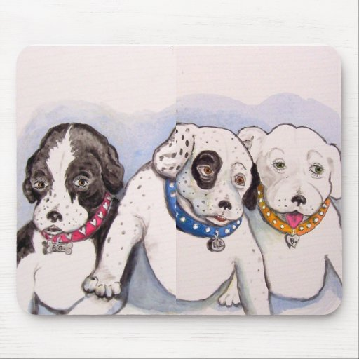 Sweet Puppies Mouse Pad
