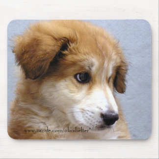 Sweet Puppy Mouse Pad