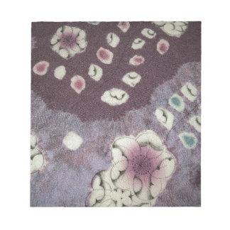 Sweet Purple Kimono Fabric Note Pads