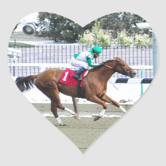Sweet Pursuit with Declan Cannon Heart Sticker
