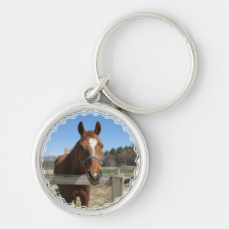Sweet Quarter Horse Keychain