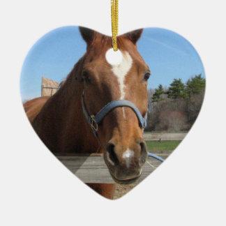 Sweet Quarter Horse Ornament