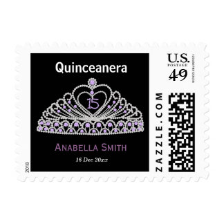 Sweet Quinceanera Stamps