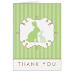 Sweet Rabbits Baby Shower Thank You Cards