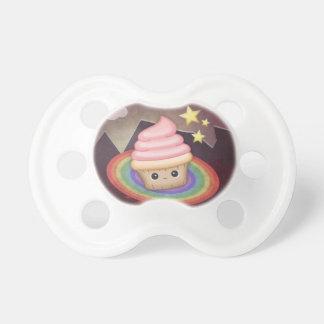 Sweet Rainbow Cupcake Pacifier