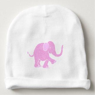 Sweet Rasperry Pink Joyful Baby Elephant Baby Beanie