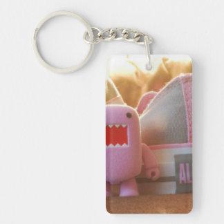 Sweet Rectangle (single-sided) Keychain