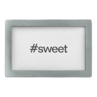 sweet rectangular belt buckle