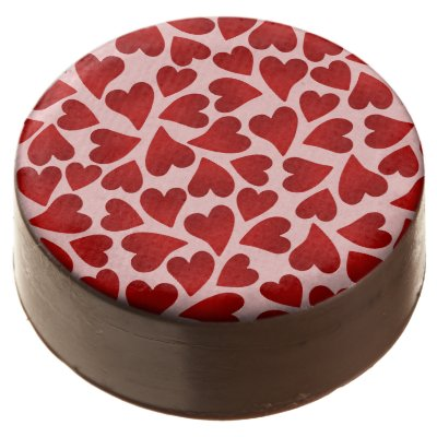I Love You Valentine Hearts Sweet Valentines Treat Chocolate Covered