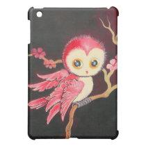 Sweet Red Owl iPad Mini Cover