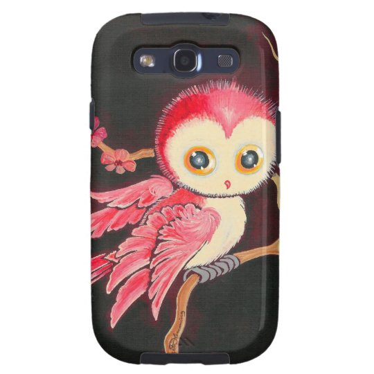 Sweet Red Owl Samsung Galaxy SIII Cover