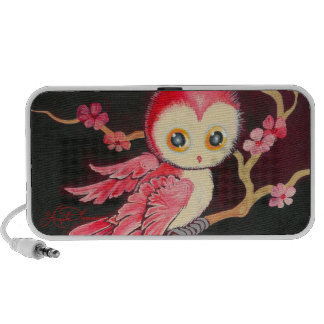 Sweet Red Owl Speakers