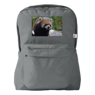 Sweet Red Panda Bear Backpack