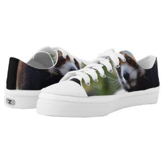 Sweet Red Panda Bear Low-Top Sneakers