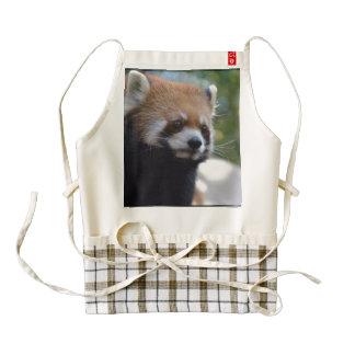 Sweet Red Panda Bear Zazzle HEART Apron
