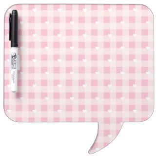 Sweet Red Valentine's background Dry-Erase Board