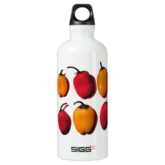 Sweet Red & Yellow Peppers Water Bottle