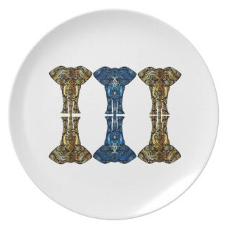 Sweet Reflections Melamine Plate