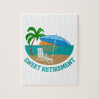 Sweet Retirement Jigsaw Puzzle