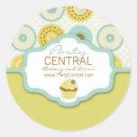 Sweet Retro Business Sticker