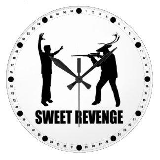 Sweet Revenge Large Clock