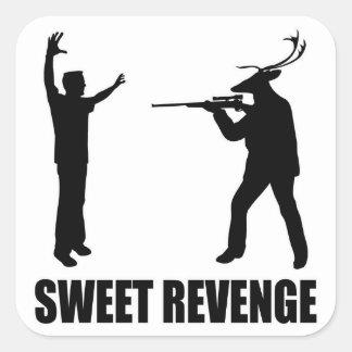 Sweet Revenge Square Sticker