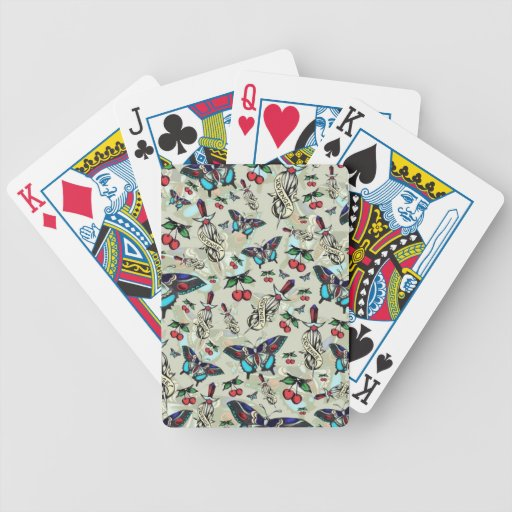 Sweet Revenge. Tattoo style drawing pattern. Bicycle Playing Cards