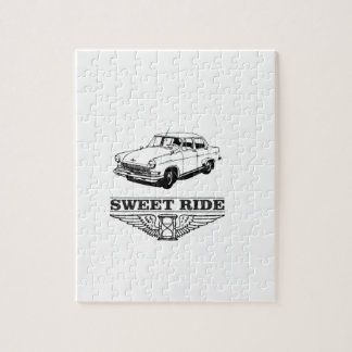 sweet ride car boy jigsaw puzzle