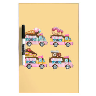 Sweet Ride Dry-Erase Board