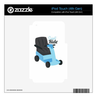 Sweet Ride iPod Touch 4G Decal